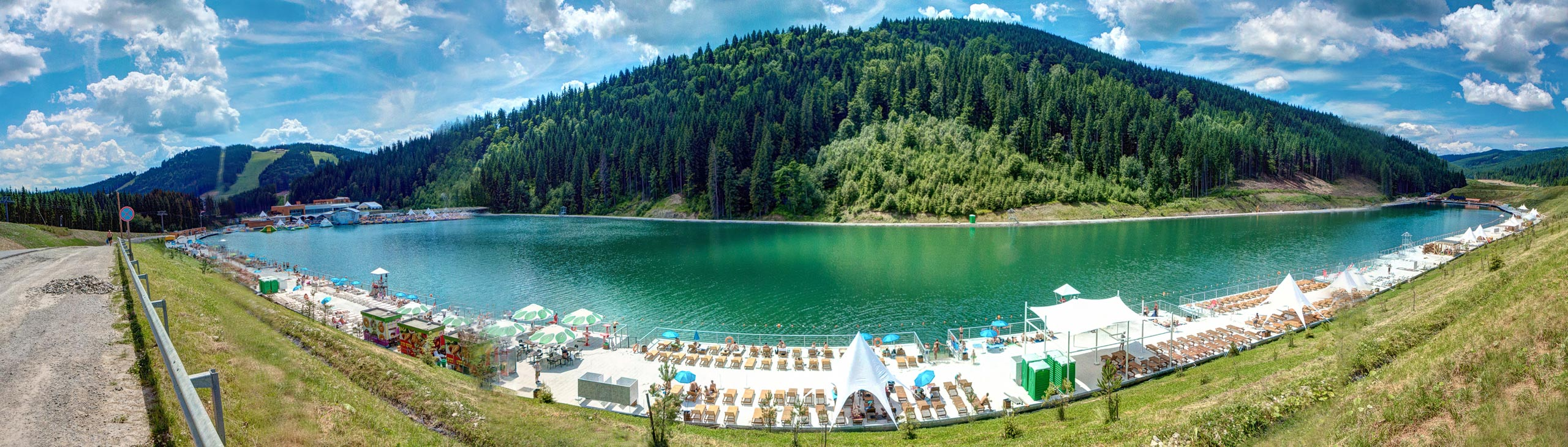 Lake of Youth in Bukovel
