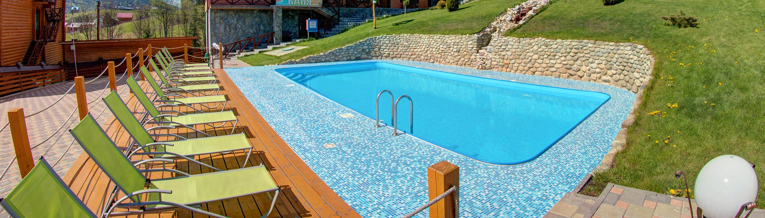 Hotel in Bukovel with a pool
